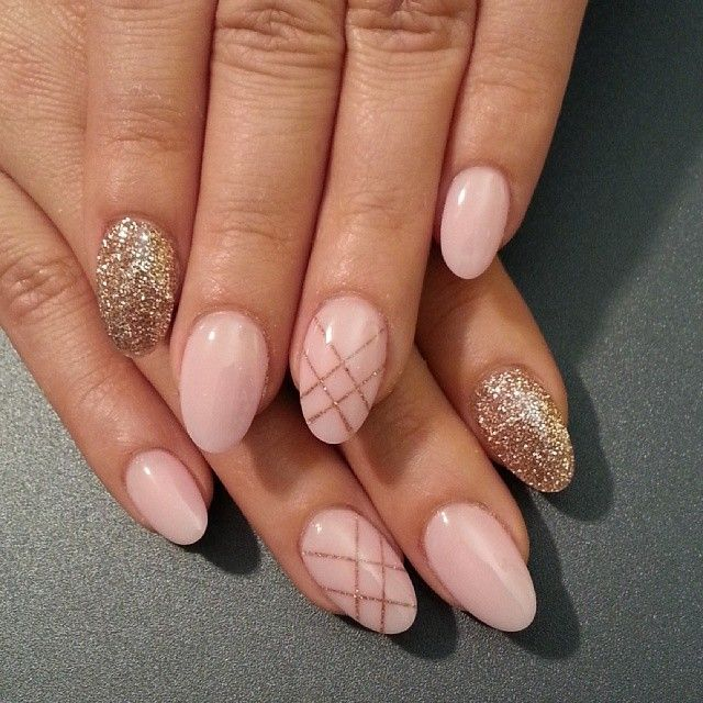 Spring Summer Oval Nail Designs 2017