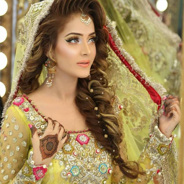 new pakistani bridal hairstyles to look stunning | fashionglint