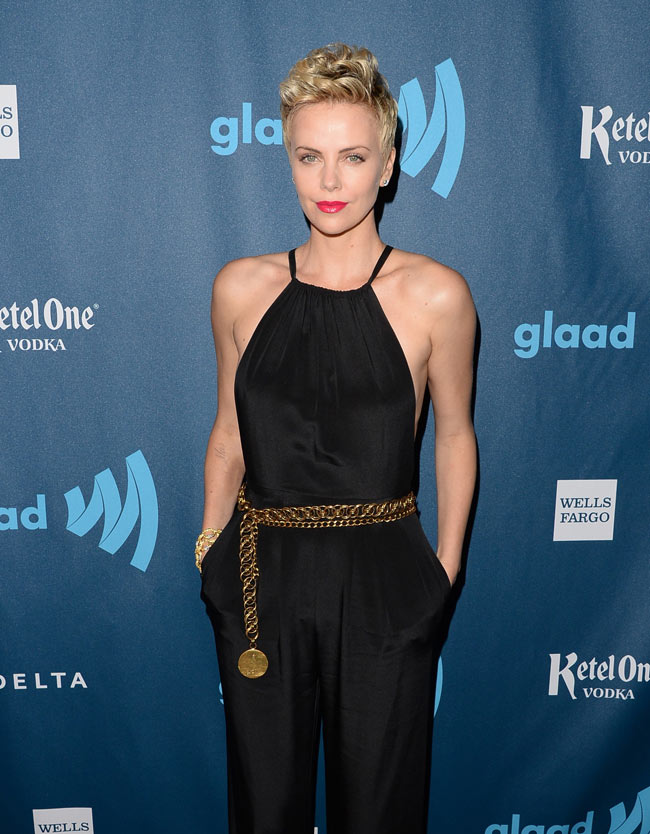 Charlize Theron in Jason Wu
