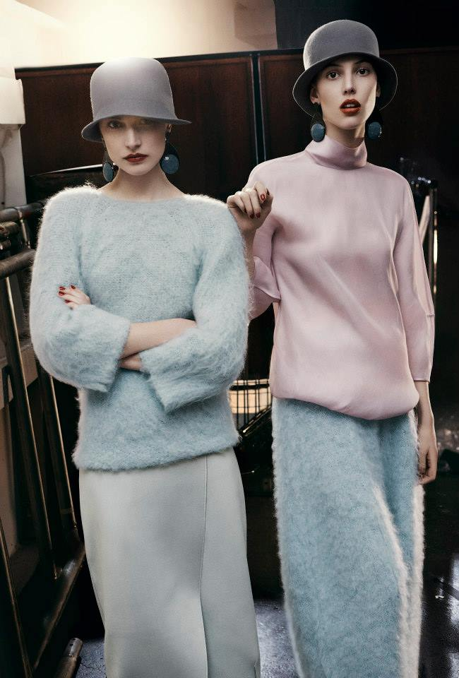 Emporio Armani Jacquelyn Jablonski, Ruby Aldridge and Esther Heesch AW 2013