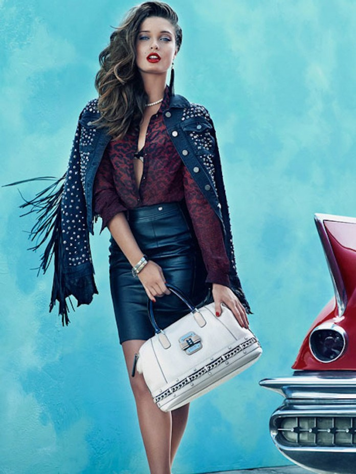 PULMANNS GUESS SHOT 04 A 121 v2 Sandrah & Dioni Star in Guess Fall 2013 Accessories Ads by Claudia & Ralf Pulmanns