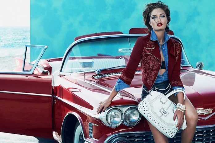PULMANNS GUESS SHOT 05 A 116 v3 Sandrah & Dioni Star in Guess Fall 2013 Accessories Ads by Claudia & Ralf Pulmanns