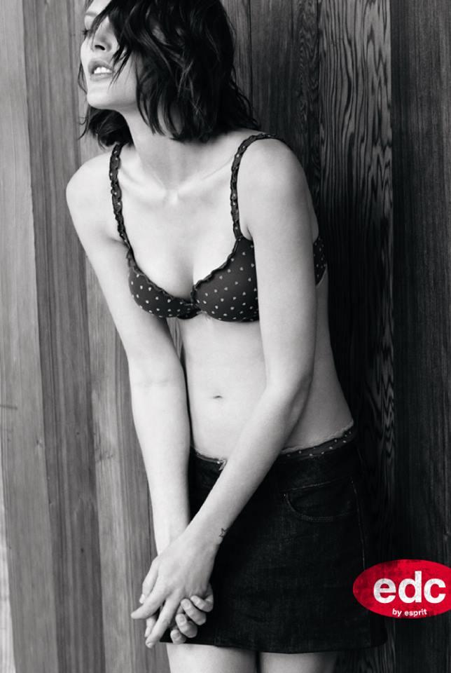 catherine esprit lingerie5 Catherine McNeil Fronts Esprits Fall 2013 Lingerie Campaign
