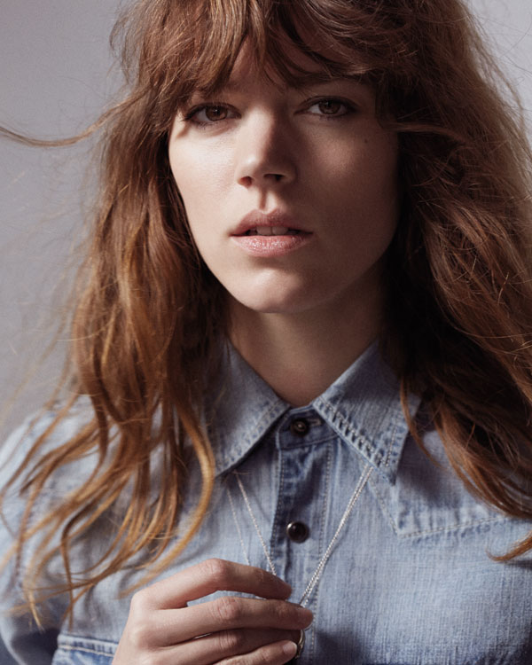 See Freja Beha Erichsens Capsule Collection For Mother Denim