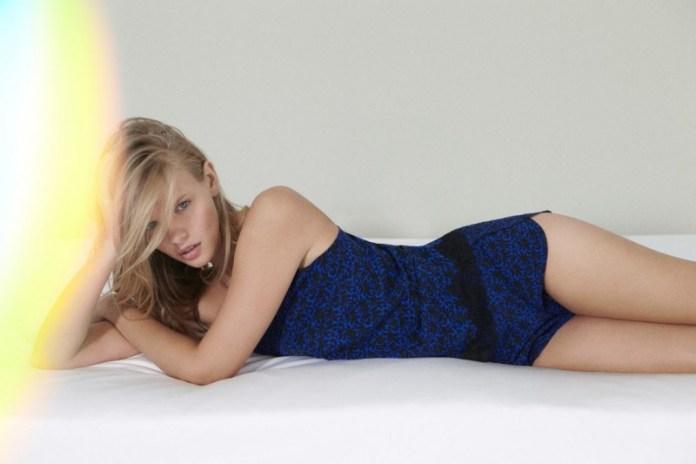 stella mccartney lingerie3 800x533 Marloes Horst Models Stella McCartney F/W 2013 Lingerie Collection