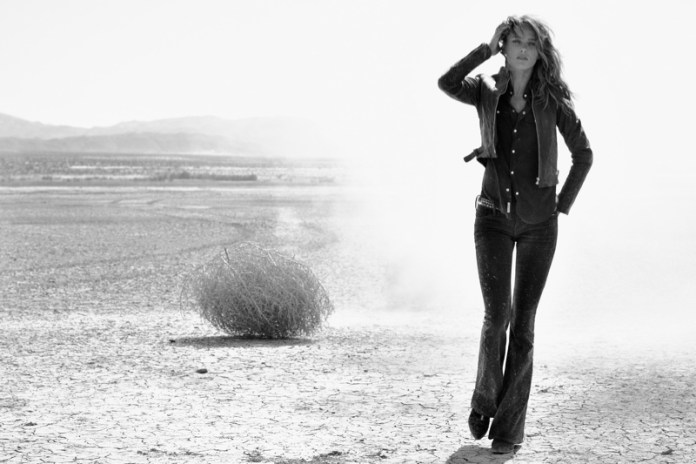 true religion fall10 Karmen Pedaru Hits the Desert for True Reilgions Fall 2013 Ads