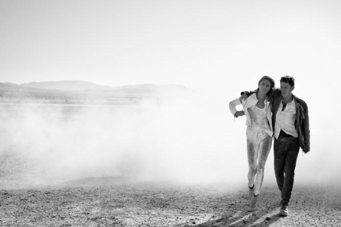 true religion fall2 Karmen Pedaru Hits the Desert for True Reilgions Fall 2013 Ads