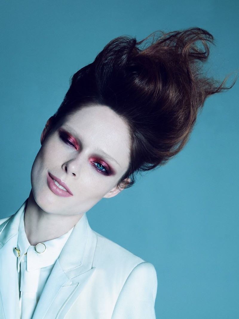 Coco Rocha Poses For Rayan Ayash In Schon 22 Shoot