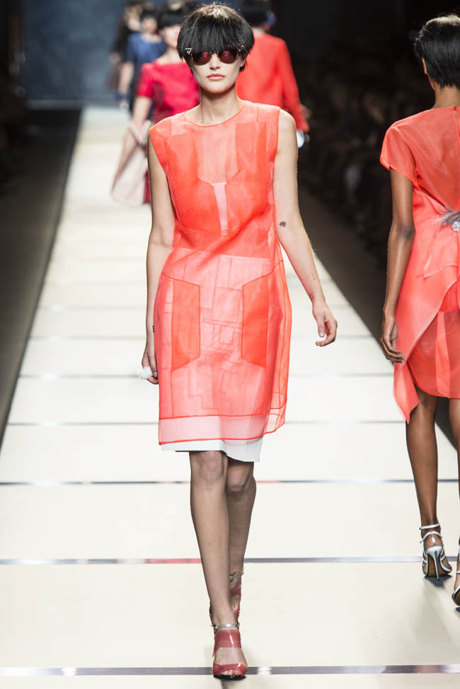 Milan Fashion Week Spring/Summer 2014 Day 2 Recap | Prada, Just Cavalli, Max Mara + More