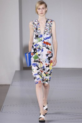 A look from Jil Sander's spring-summer 2014 collection