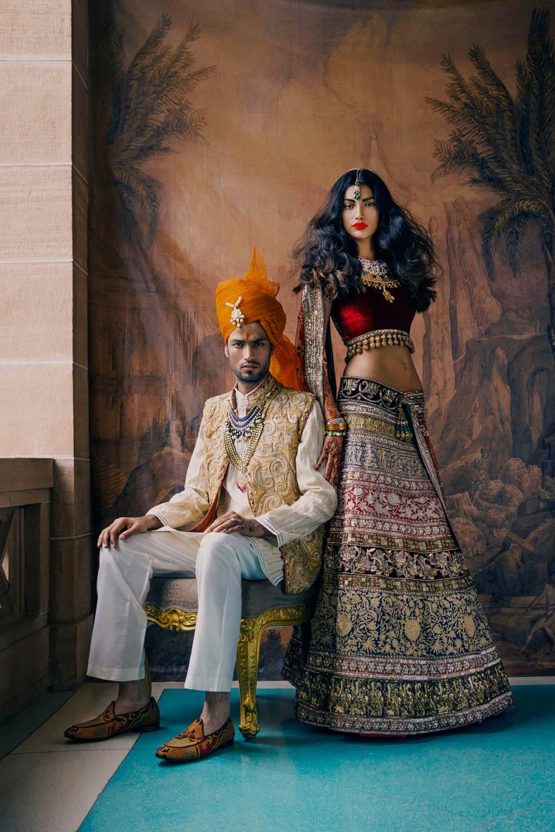 fashion editorial vogue indian wedding india style makeup