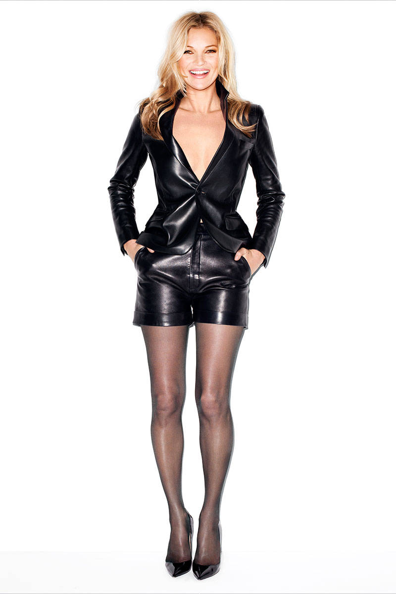 kate moss terry richardson1 Kate Moss Talks Turning 40, Topshop Collection with Harpers Bazaar