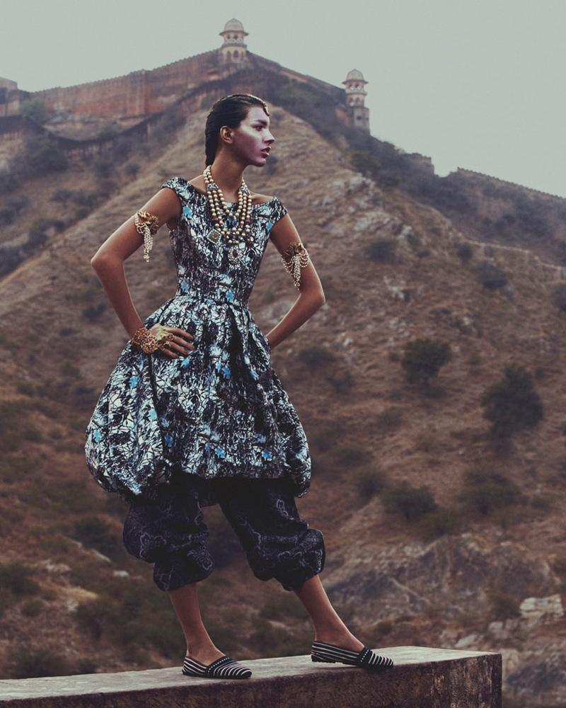 kate kung foto shoot Kate Kung modeller Sari stil för hur man spendera den av Andrew Yee