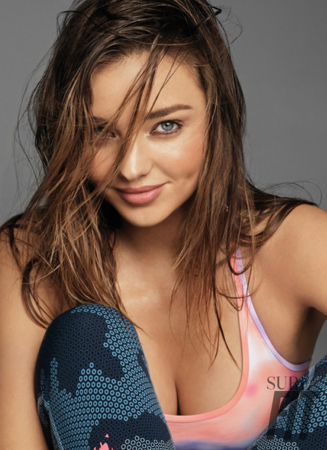 Miranda Kerr Works Out In Style For Sure Fit Feature