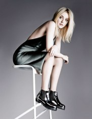 Dakota Fanning stars in AGL Shoes fall-winter 2014 campaign