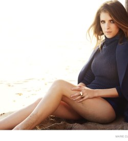Anna Kendrick Covers Marie Claire Talks People Criticizing Her Looks