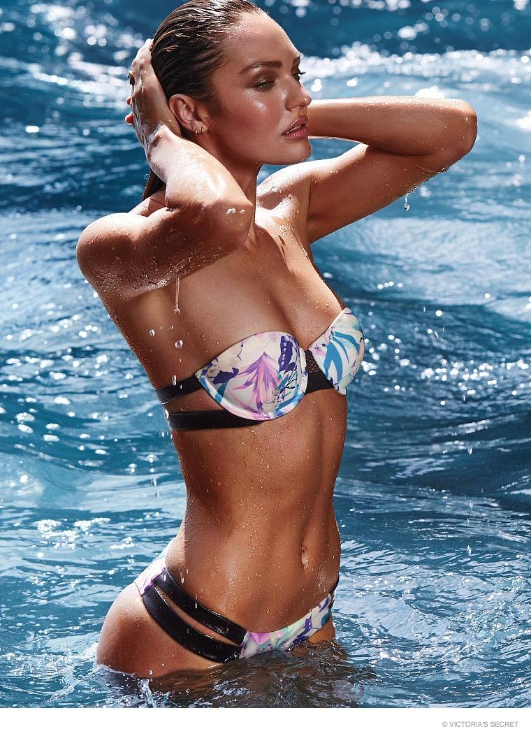candice swanepoel swim photos03 Hot Swim! Candice Swanepoel Strips Down for Victoria's Secret Shoot
