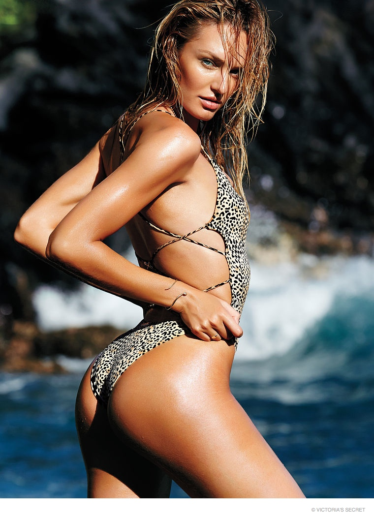 candice swanepoel swim photos04 Hot Swim! Candice Swanepoel Strips Down for Victoria's Secret Shoot