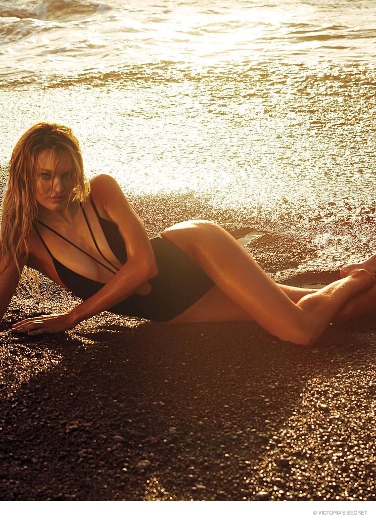 candice swanepoel swim photos05 Hot Swim! Candice Swanepoel Strips Down for Victoria's Secret Shoot