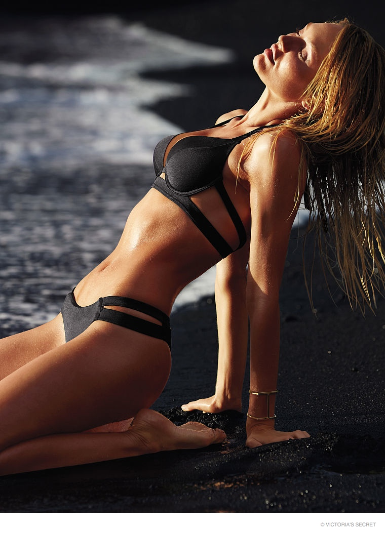 candice swanepoel swim photos06 Hot Swim! Candice Swanepoel Strips Down for Victoria's Secret Shoot