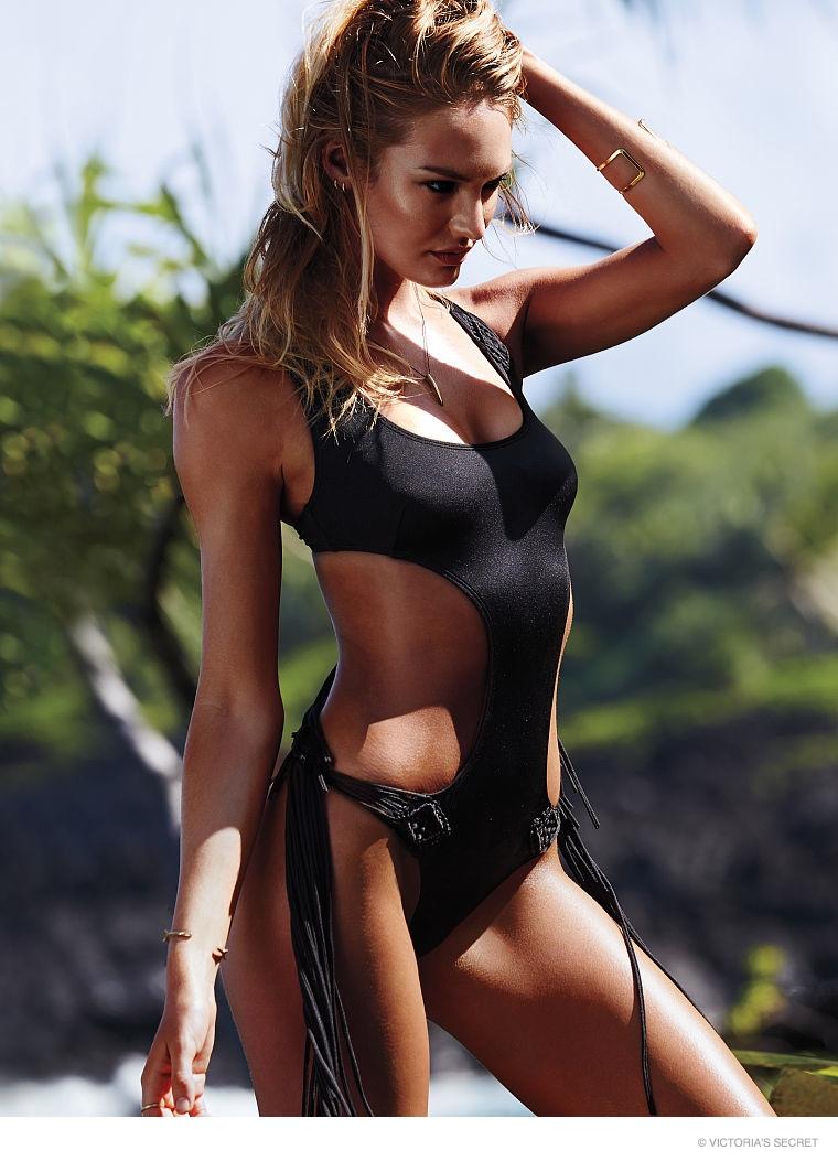 candice swanepoel swim photos09 Hot Swim! Candice Swanepoel Strips Down for Victoria's Secret Shoot