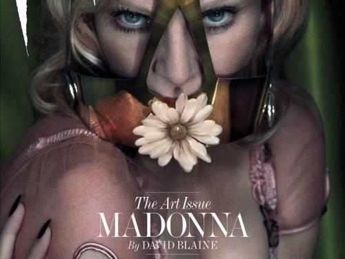 Foto Telanjang Madonna Di Majalah Interview