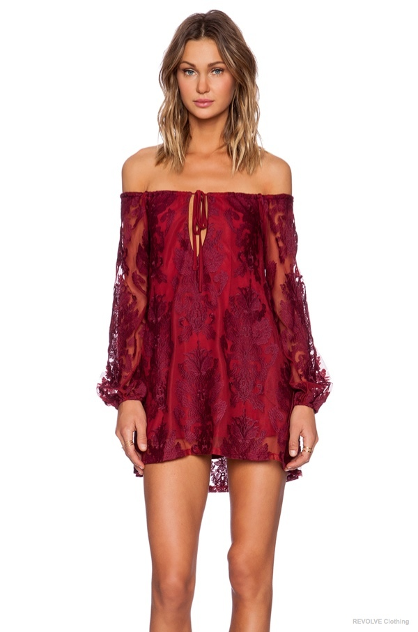 6 Lace Dresses To Wear On Valentines Day 2015 Fashion