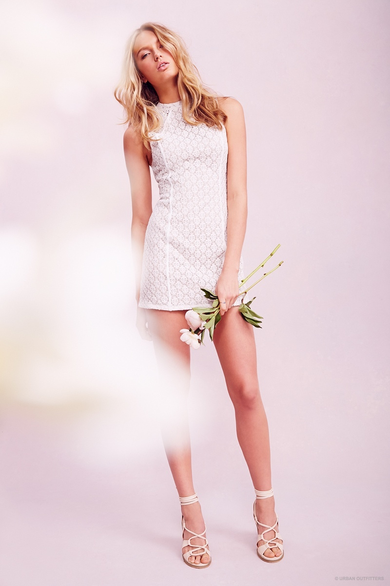Romee Strijd Wears Valentines Day Dresses Amp Lingerie For