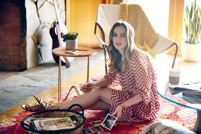 Leighton Meester stars in a spring 2015 style diary for Jimmy Choo.