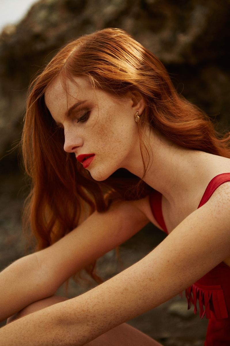Magdalena Jasek Stuns In Summer Style For Harpers Bazaar