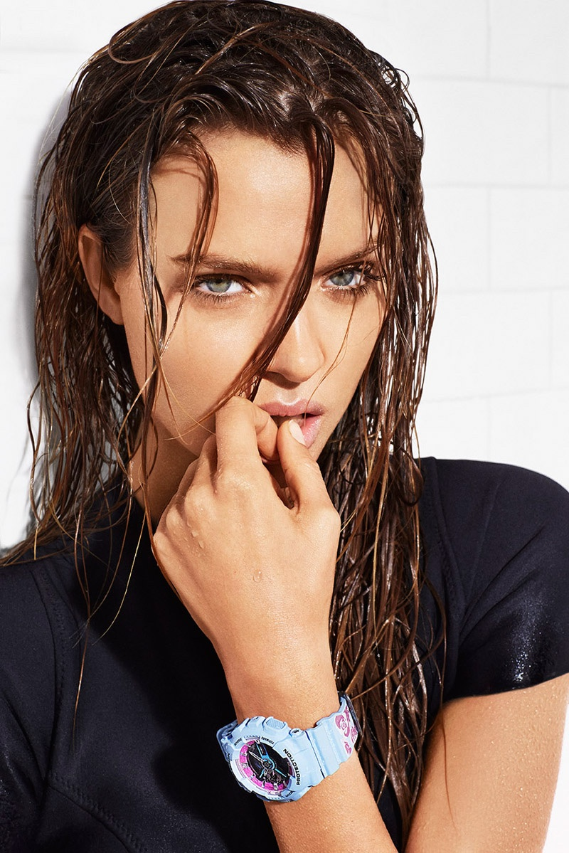 Josephine Skriver Brings The Heat For G Shock Summer