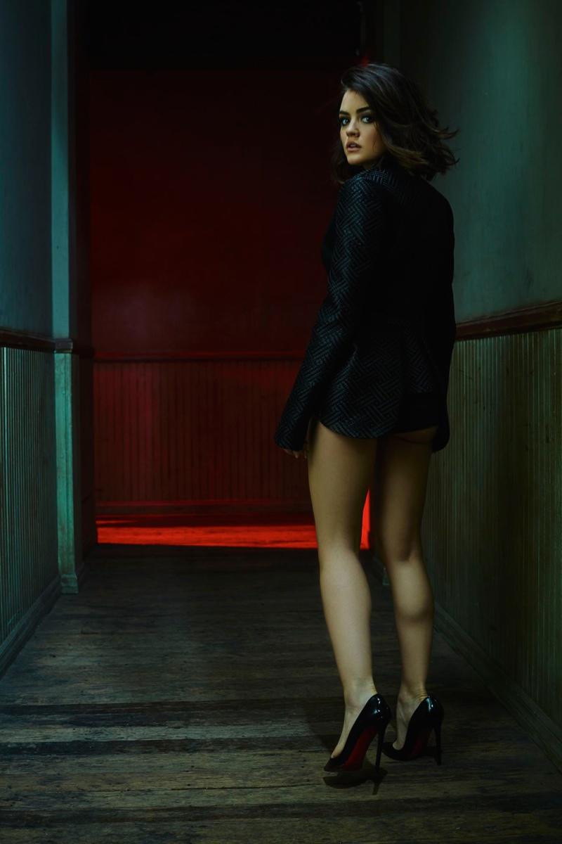 Lucy Hale Sexy V Magazine Photoshoot01