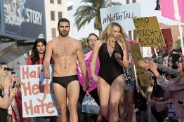 Nyle on the runway