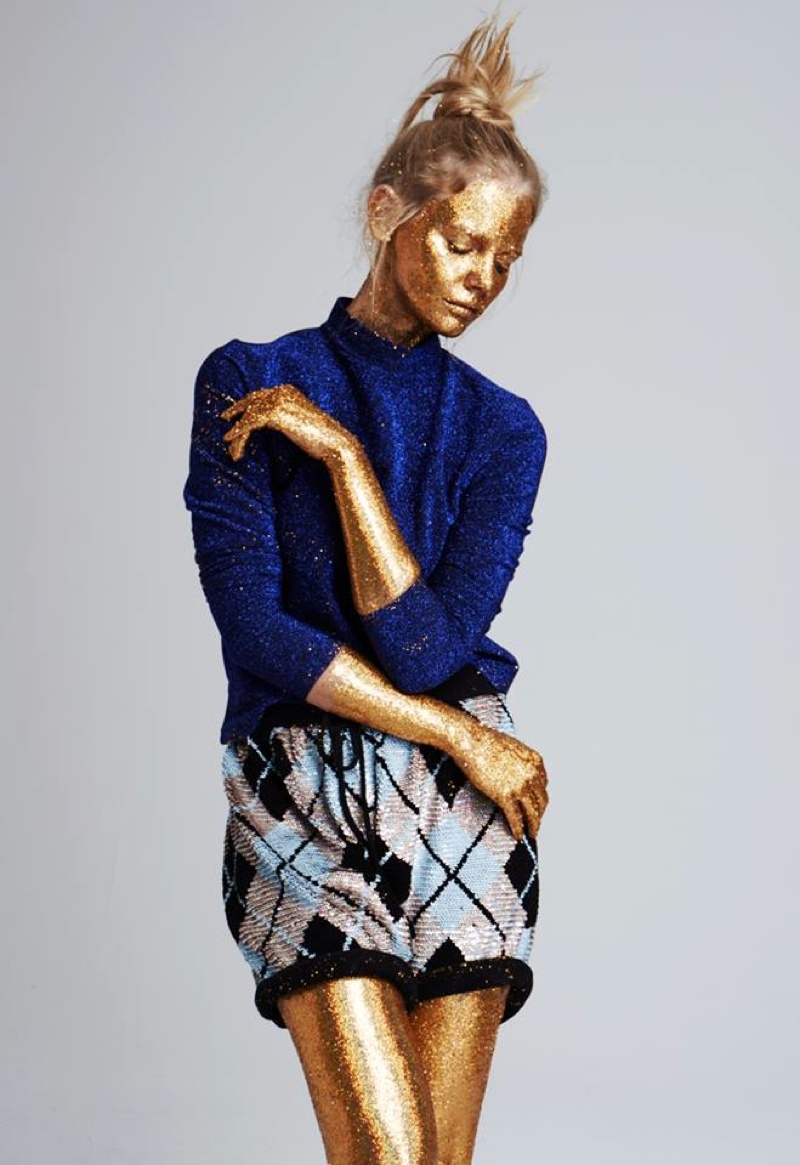 Marloes Horst Has The Shine Factor In Glamour Netherlands