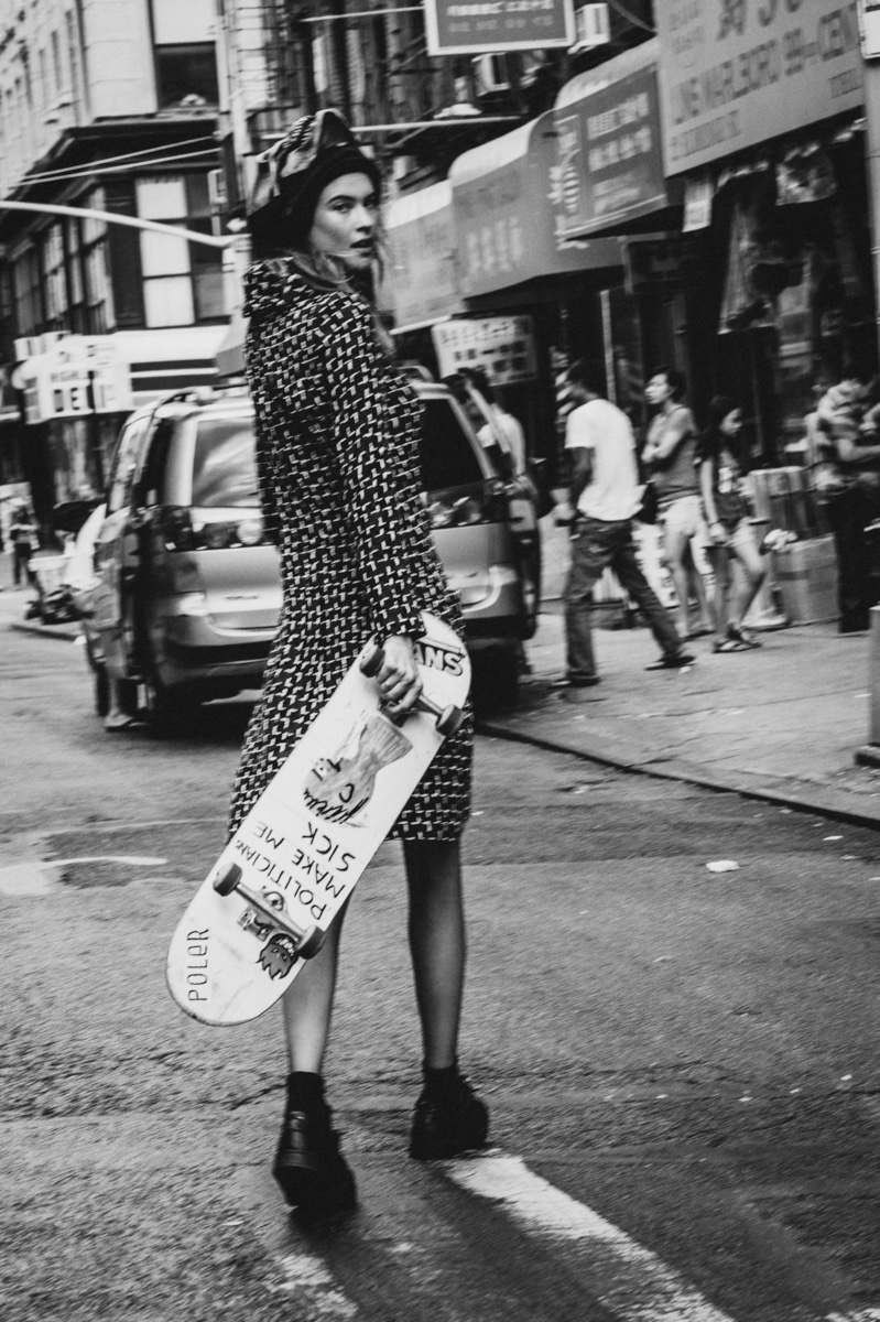 Behati Prinsloo Models Street Style For So It Goes 6