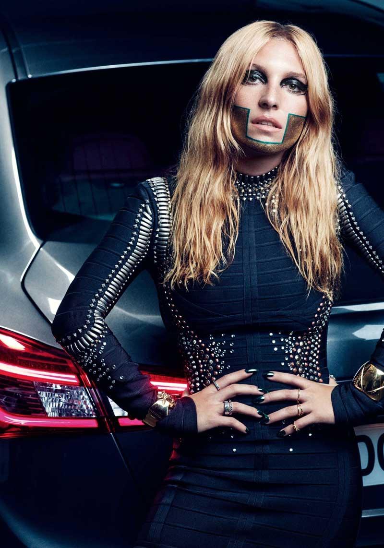 Jos 233 Phine De La Baume Gets Futuristic For So Chic Magazine