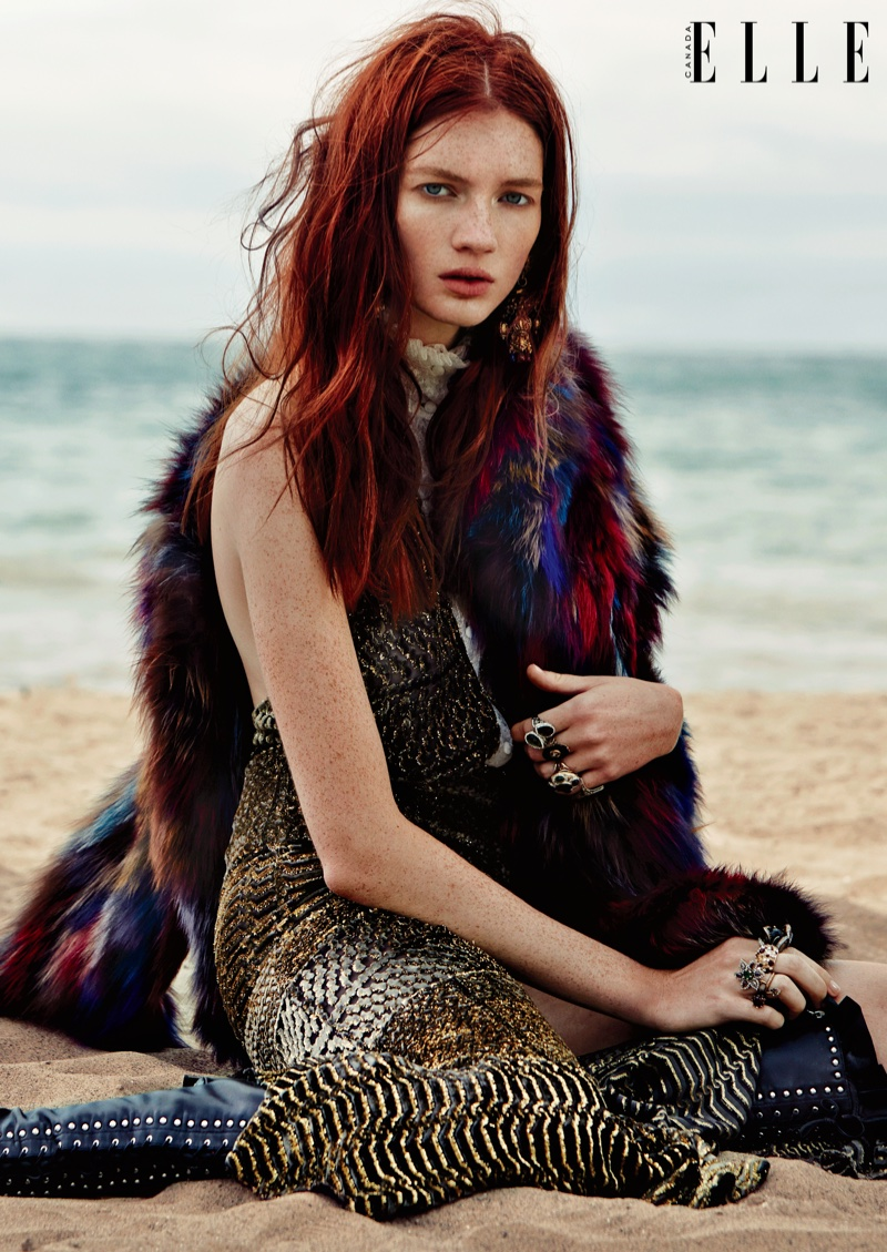 Message In A Bottle Kristin Zakala Is Boho Luxe For ELLE