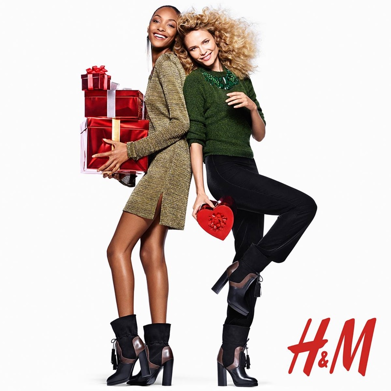 HampM Holiday 2015 Campaign With Jourdan Dunn