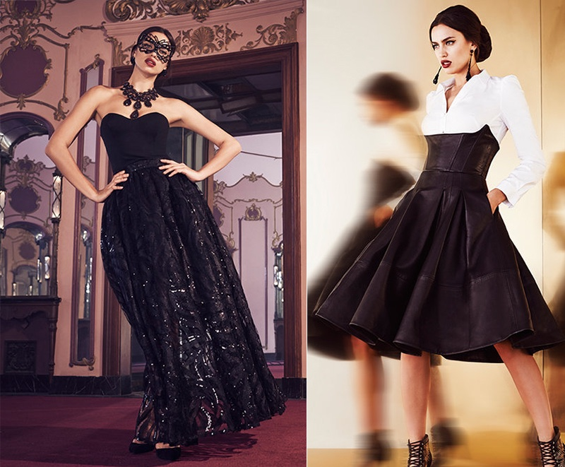 Bebe Holiday 2015 Lookbook With Irina Shayk Fashion Gone