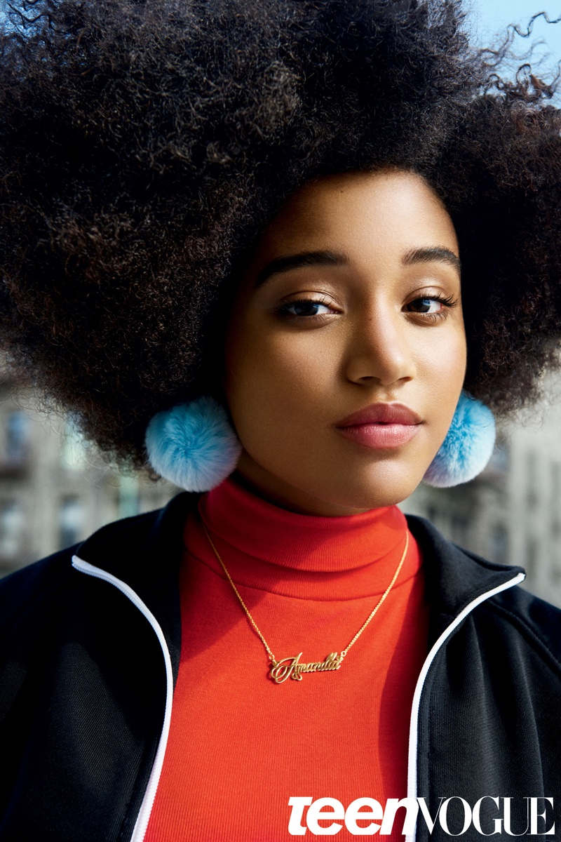 Amandla Stenberg Teen Vogue February 2016 Photoshoot