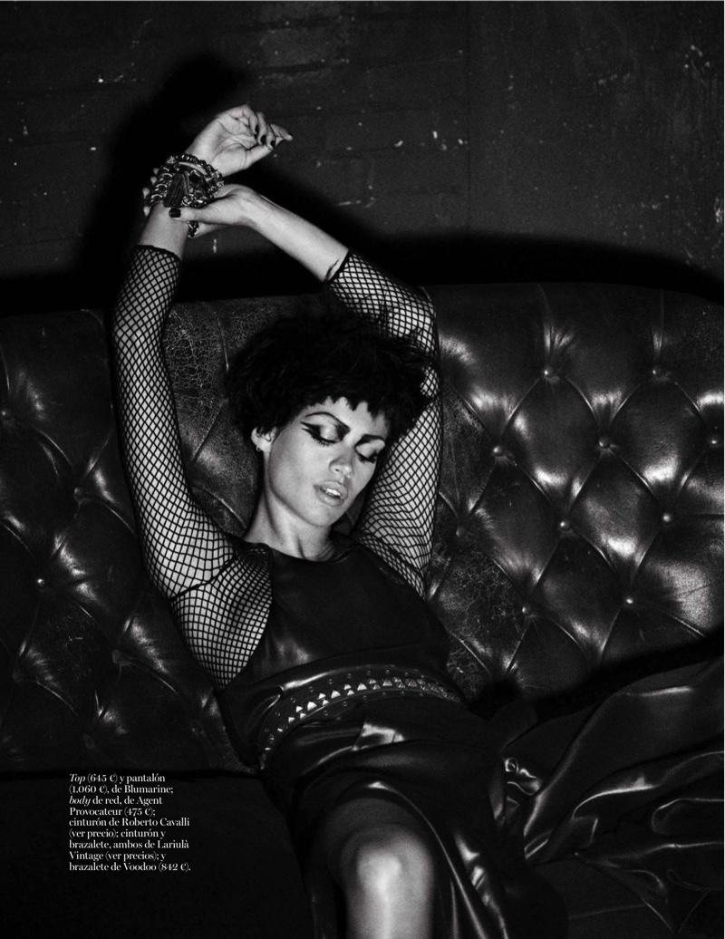 Sara Sampaio Channels Punk Fashion For Vogue Spain
