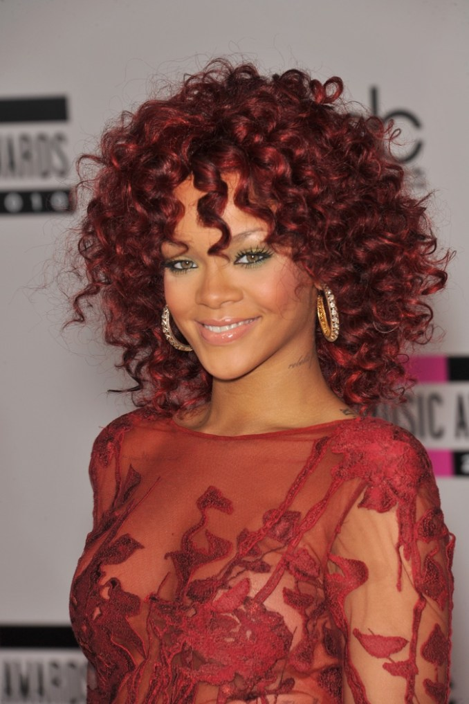 Image Result For Rihanna Hairstyles Long