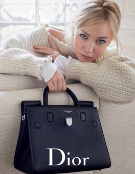Jennifer Lawrence stars in Dior's spring-summer 2016 handbag campaign