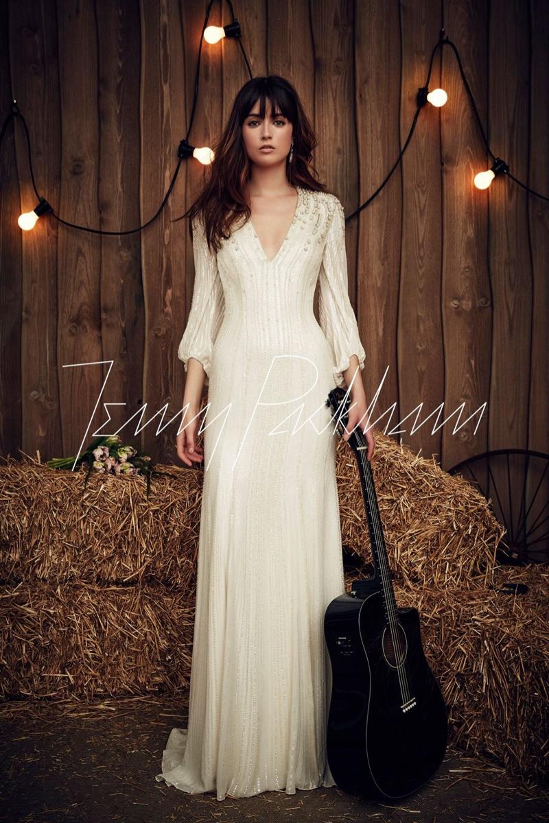 Country Western Wedding Dress 18 New Jenny Packham Bridal Spring
