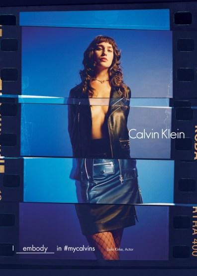 Lola Kirke for Calvin Klein Fall/Winter 2016 Campaign