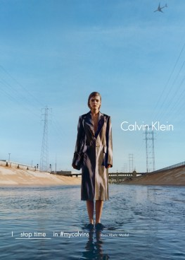 Roos Abels for Calvin Klein Fall/Winter 2016 Campaign