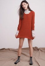 Madewell Wafflestitch Pullover Sweater and Whisper Cotton Turtleneck