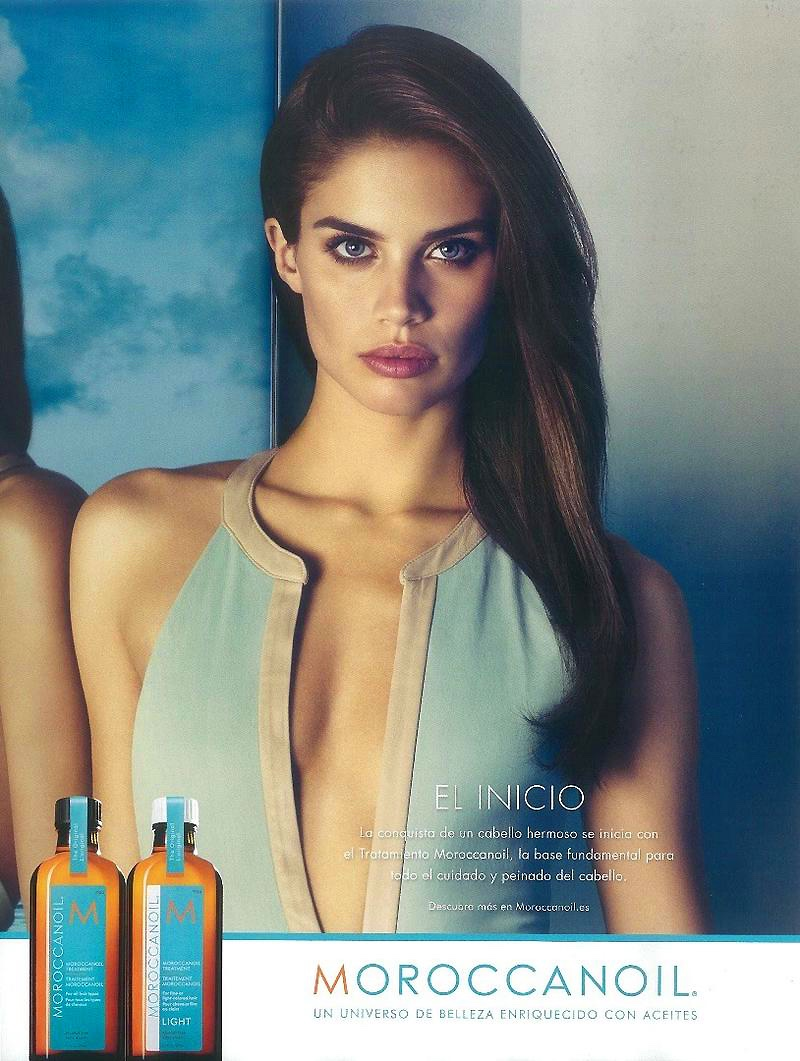 Sara Sampaio Has Gorgeous Hair In Moroccanoil Campaign