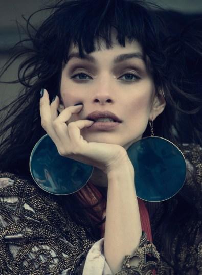 Luma Grothe Models the 'New Romantic' in Harper's Bazaar ...