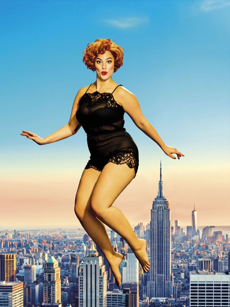 Ashley Graham Poses In Pin Up Styles For New York Magazine